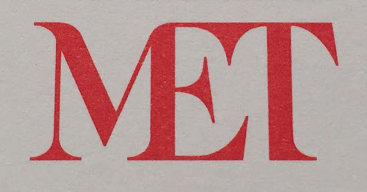 The Metropolitan Museum of Art's New Logo Is a Typographic Bus Crash