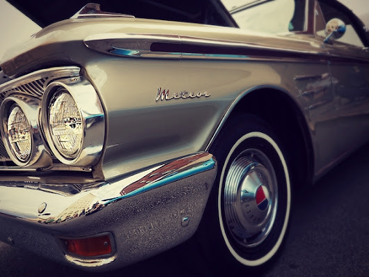 Classic Vintage Meteor Automobile by Prairie Pics Photography