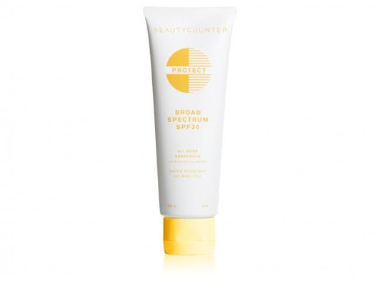 Beauty Counter Protect All Over Sunscreen SPF 30 | 11 Best Natural Sunscreens