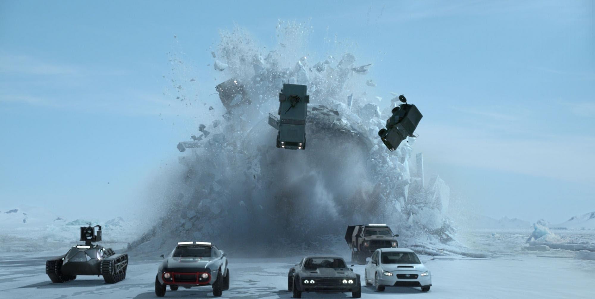 The Fate Of The Furious Cars Velozes E Furiosos Fotografia
