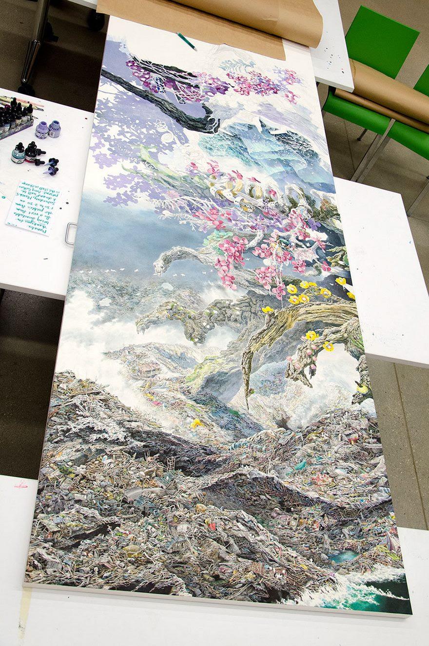 pen-ink-drawing-rebirth-manabu-ikeda-7