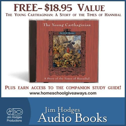 FREE - The Young Carthaginian: A Story of the Times of Hannibal $18.95 Value