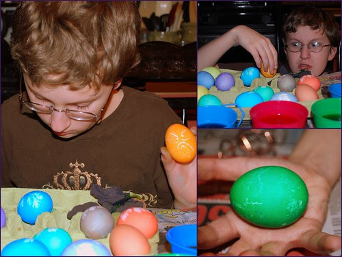 Egg collage Evan