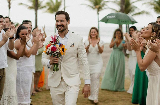 Após termino de noivado, médico 'casa' com ele mesmo na Bahia | Foto: Arquivo pessoal