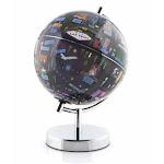 Globee Las Vegas Globe, 9-inch , Illuminated, Illustrated