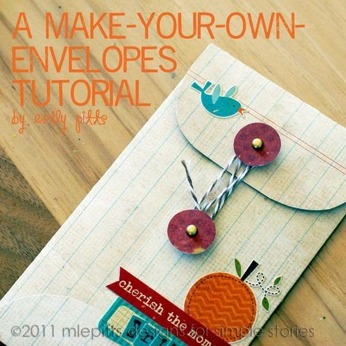 Amazing Stamp Gallery: Make your own envelope tutorial