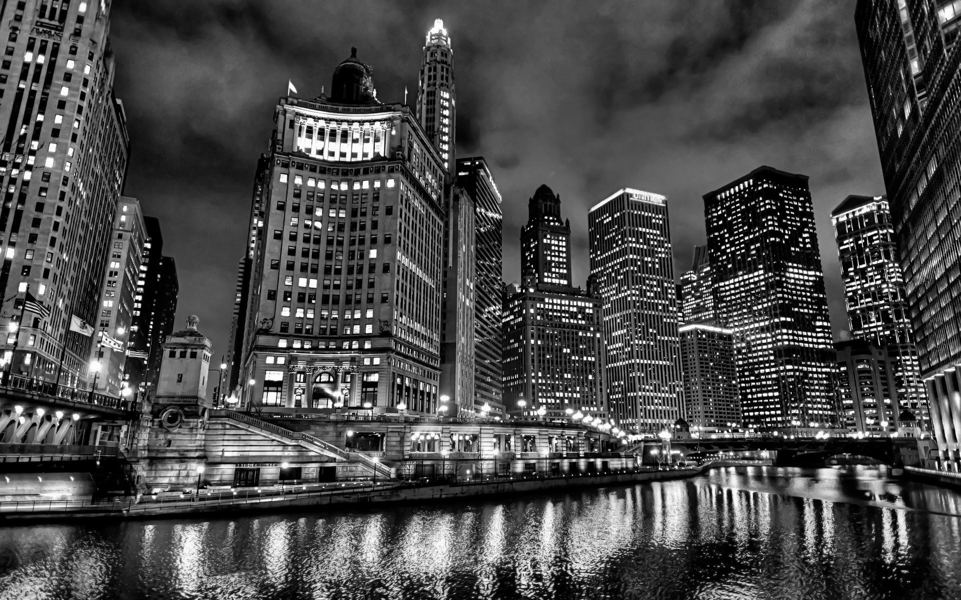 Chicago Skyline Hd Wallpaper 77 Images