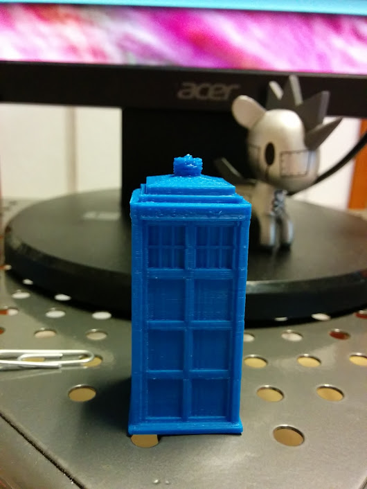 Doctor who and 3D Printing