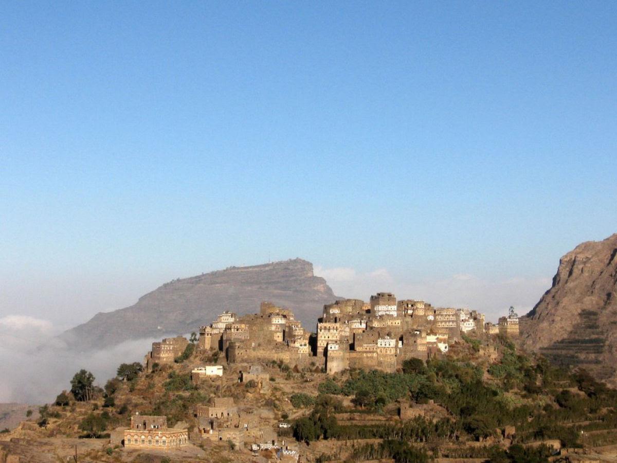 Al Hajjarah, a cidade da Idade Média com edifícios de vários andares 05