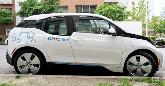 Grabbing and going with BMW's ReachNow car share service