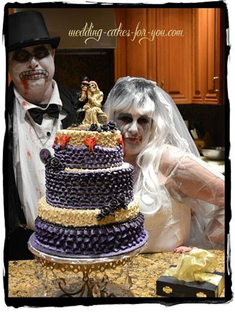 Haunting Halloween Wedding Cakes And Creepy Halloween