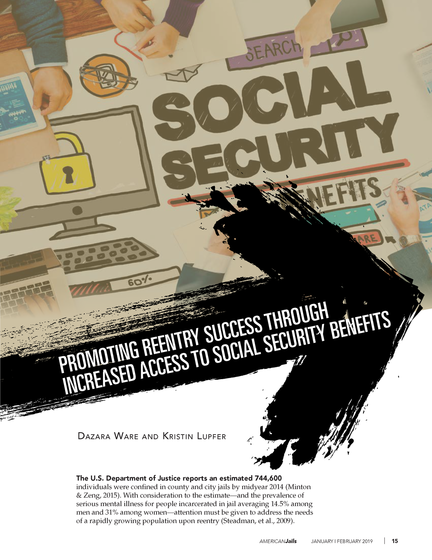 Promoting Reentry Success Through Increased Access to Social Security Benefits article page 1