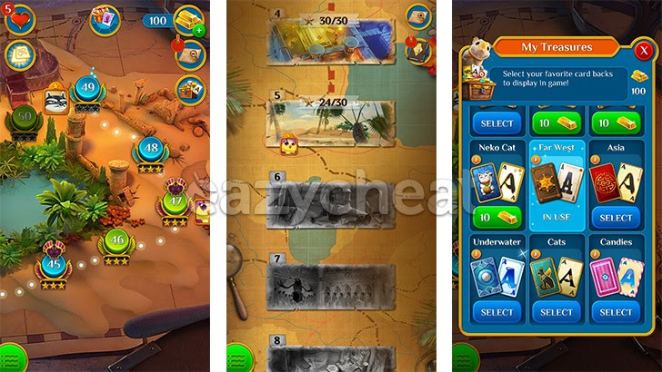 Pyramid Solitaire Saga Cheats