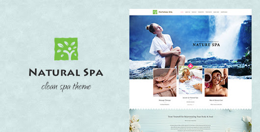 Natural Spa Responsive WP Theme