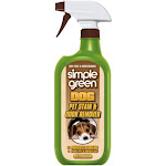 Simple Green 2010000615301 Bio Dog Stain and Odor Remover, 32 Oz