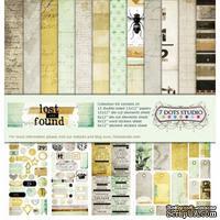 Набор двусторонней скрапбумаги от 7 Dots Studio - Lost and Found - Collection Kit, 12 шт - ScrapUA.com