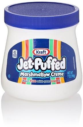 Amazon.com: Kraft Jet Puffed Marshmallow Creme Spread, 7 ...