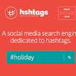 Search engine for hashtags
