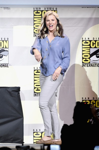 Lucy Lawless Comic Con 2016