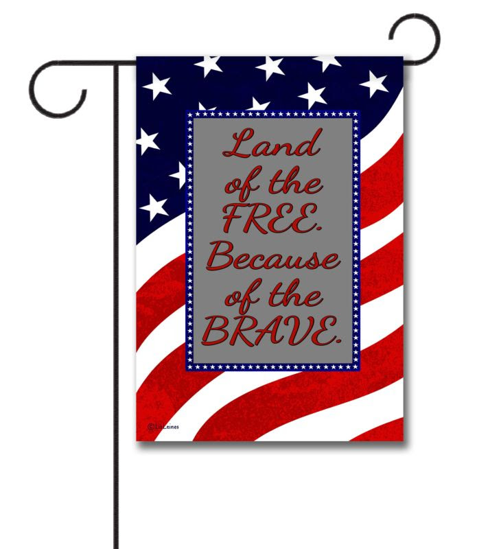 Waving Flag  Quote Garden Flag  12.5\u002639;\u002639; x 18\u002639;\u002639;  Custom