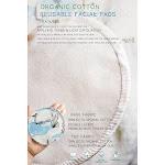 Reusable 100% Organic Cotton facial pad   Arcadia-Designs.com peaceful land 0569135 / 6 pads only