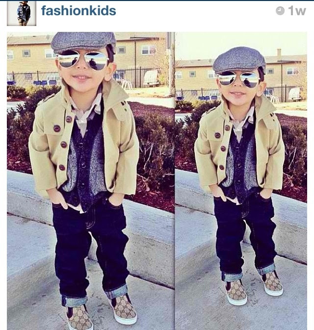 Fashion kids on Instagram