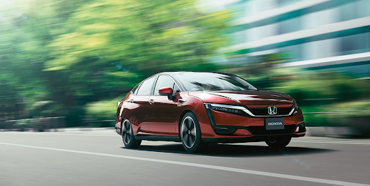Honda's Beautifully Designed Zero Emissions Fuel Cell Vehicle | Leith Honda