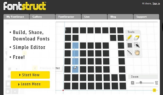 5 Free Tools To Make Your Own Font | Font Creator Tools | Singsys - Official Blog
