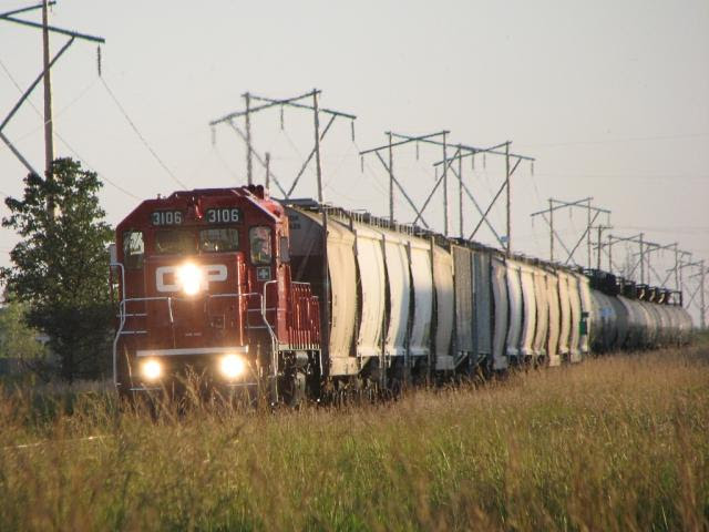 CP 3106 in Winnipeg