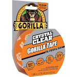 Gorilla 1.88 in. x 9 yds. Crystal Clear Tape