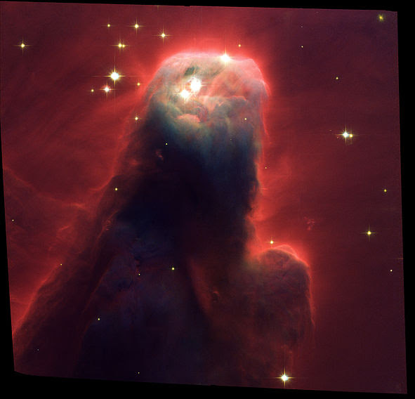 File:Cone Nebula (NGC 2264) Star-Forming  Pillar of Gas and  Dust.jpg