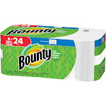 Bounty Select-A-Size Paper Towels, Triple Rolls, White - 8 count