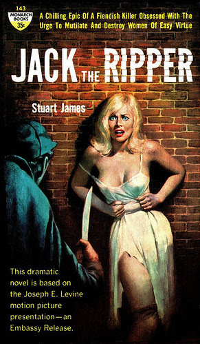 Jack the Ripper 1960 pulp