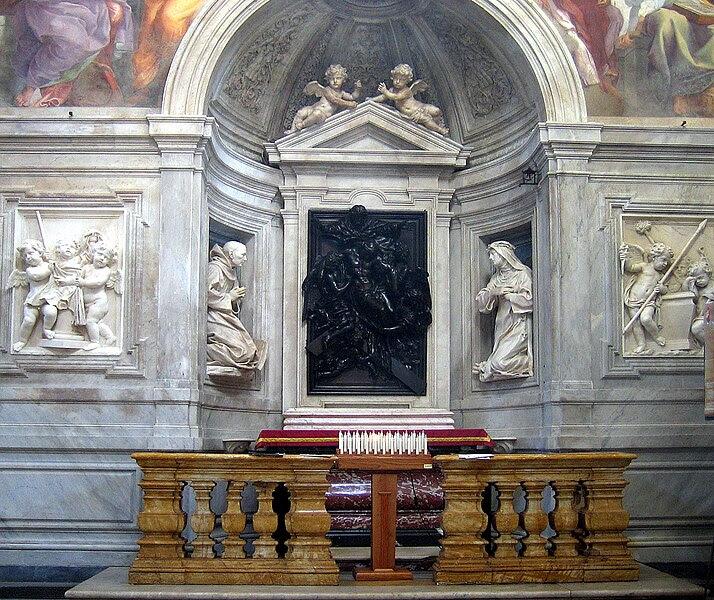 File:Santa Maria del Popolo, Chigi chapel.jpg