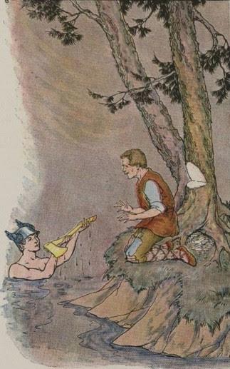 MERCURY AND THE WOODMAN