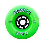 Abec 11 Superfly Wheels Set Lime Black 107Mm/74A