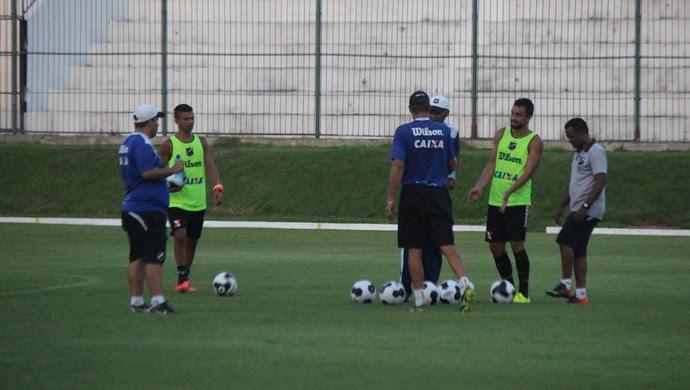 ABC - Narciso coletivo Estádio Frasqueirão (Foto: Diego Simonetti/Blog do Major)