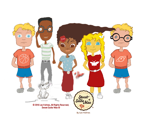 Original Diverse Characters for Our Online Kids Books