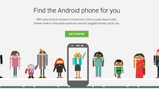 Let Google tell you what Android phone you need