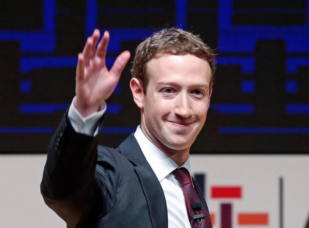 Criador do Facebook, Mark Zuckerberg.  (Foto: Esteban Felix/AP)
