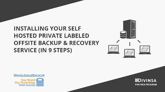 Windows Server guide for offering self hosted remote backup services