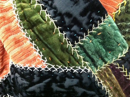 Antique Crazy Quilt Stitches