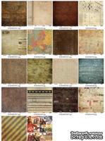 Набор бумаги для скрапбукинга 30,5х30,5 см 180 гр/м, двусторонняя, Точка невозврата, 9 листов - ScrapUA.com