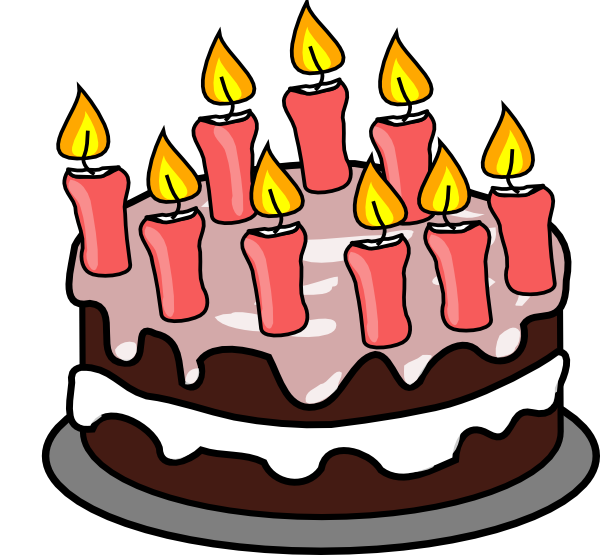Candles Clipart Free Large Images Birthday Candles