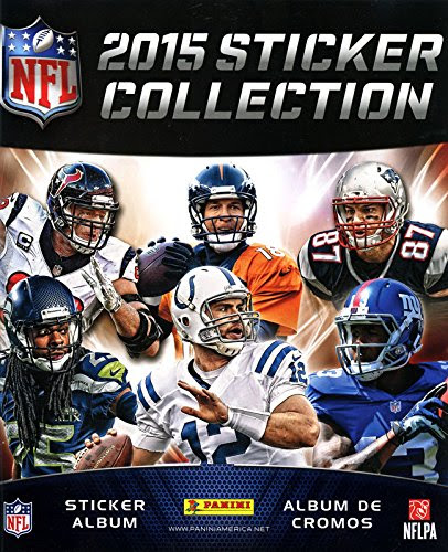 2015 Panini NFL Football Sticker Album Book includes 7 FREE stickers Sporting Goods Team Sports