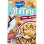Barbara's Bakery Puffins Peanut Butter - 11 Oz - Pack Of 12
