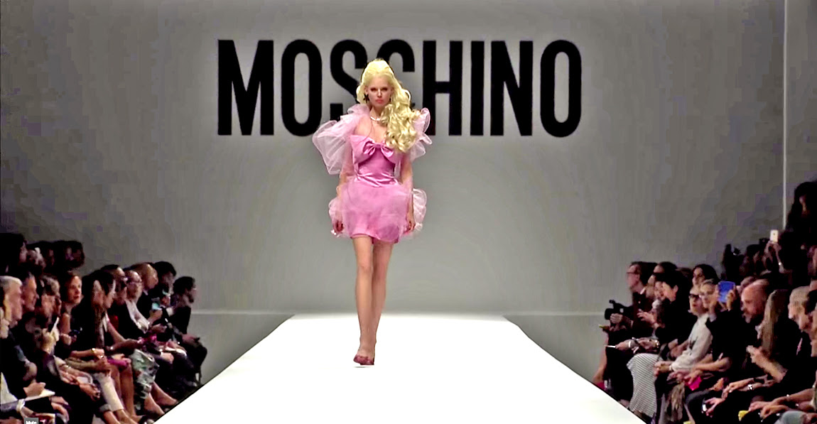 Moschino Barbie Fashion Show 14