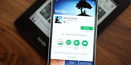 Kindle app for Android now offers split-screen support, new 'Notification Center' incoming