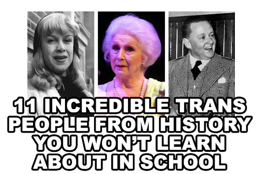 11 incredible trans people from history you won't learn about in school