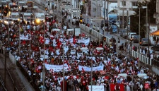 Protest in Tunisia